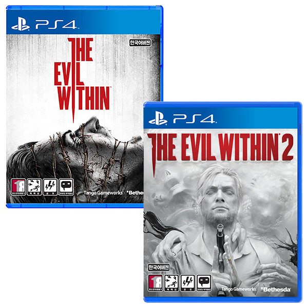 PS4 이블위딘1 + 이블위딘2 한글판 THE EVIL WITHIN 2