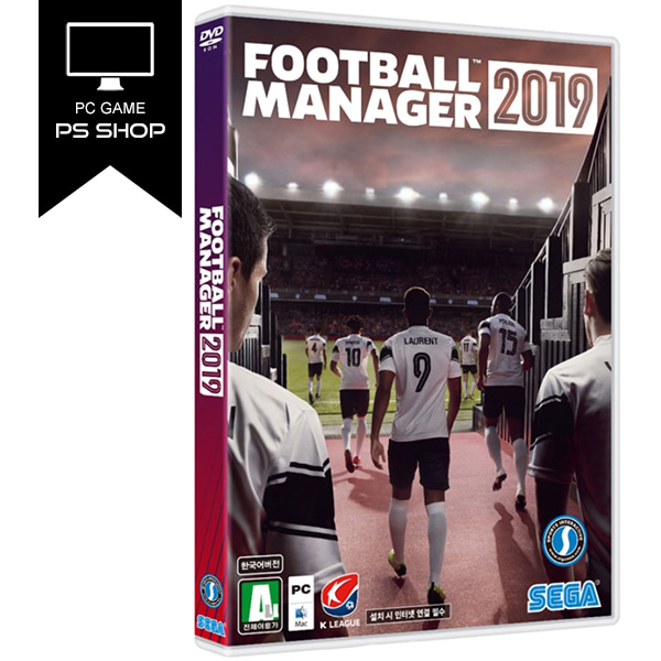 PC 풋볼매니저 2019 : FOOTBALL MANAGER 2019