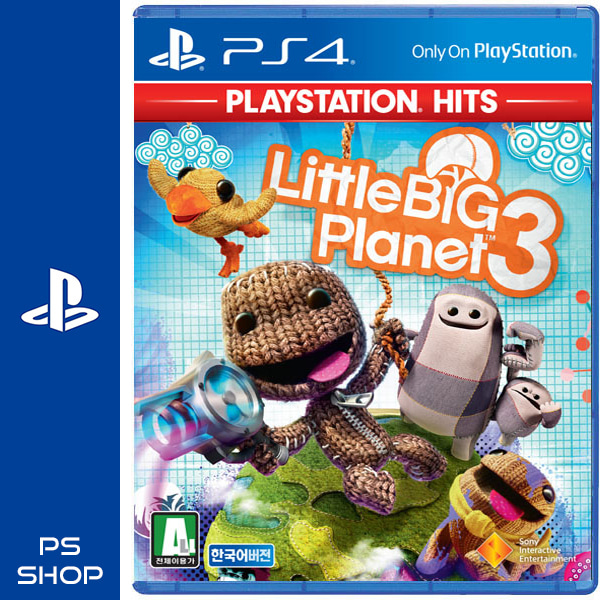 PS4 리틀빅플래닛3 : Little Big Planet 3