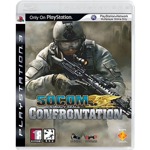 PS3 소콤 SOCOM Confrontation (FPS액션/새제품)