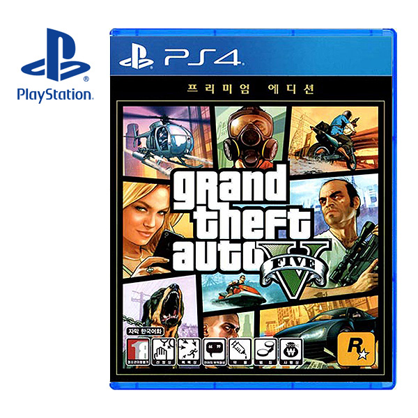 PS4 GTA5 Premium Edition 한글판