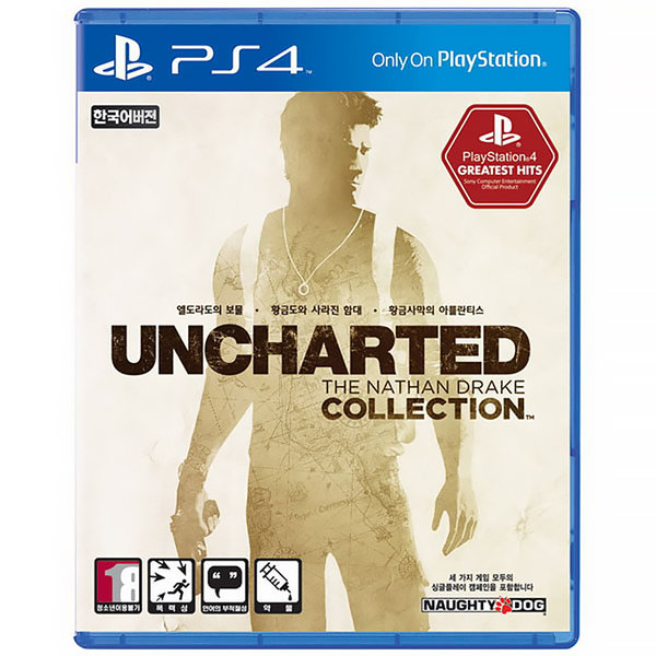 PS4 언차티드 콜렉션 : UNCHARTED COLLECTION